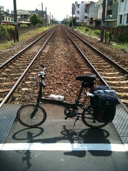 Across the railway... good day it is