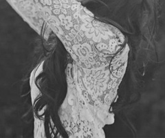 Lace shirts & long hair=obsession