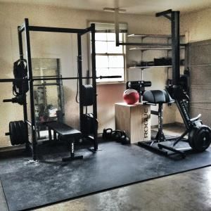 Garage Gyms   #WDStrong   Protect the equipment in your garage gym with a garage door from Wayne Dalton: http://www.wayne-dalton.com/residential/Pages/garage-doors.aspx