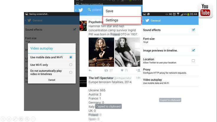 How to stop Twitter from auto playing videos
