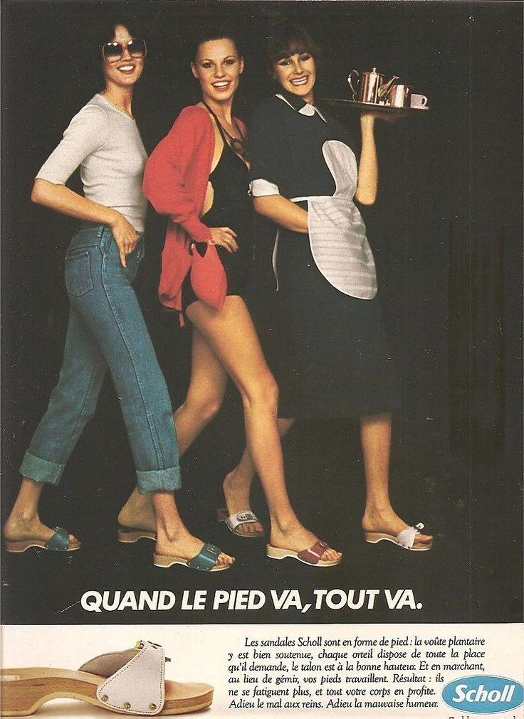 Publicite Chaussures Scholl Quand LE Pied VA Tout VA AN 70 | eBay