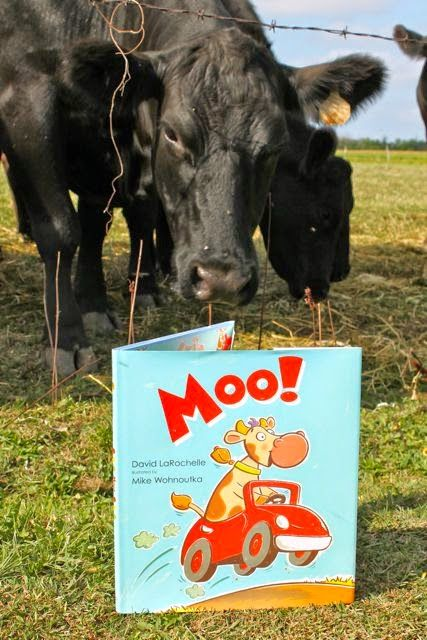 COWS LIKE TO READ BOOKS, TOO! Happy Birthday Author: Happy Birthday, Mike Wohnoutka - September 4
