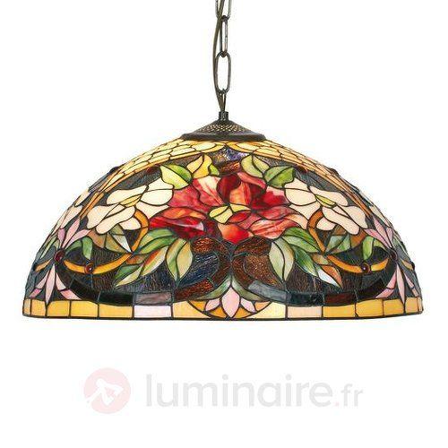 Suspension Ariadne style Tiffany sicher & bequem online bestellen bei Lampenwelt.de.