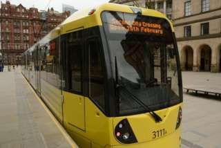 165m Manchester tramline set to open  BBC News