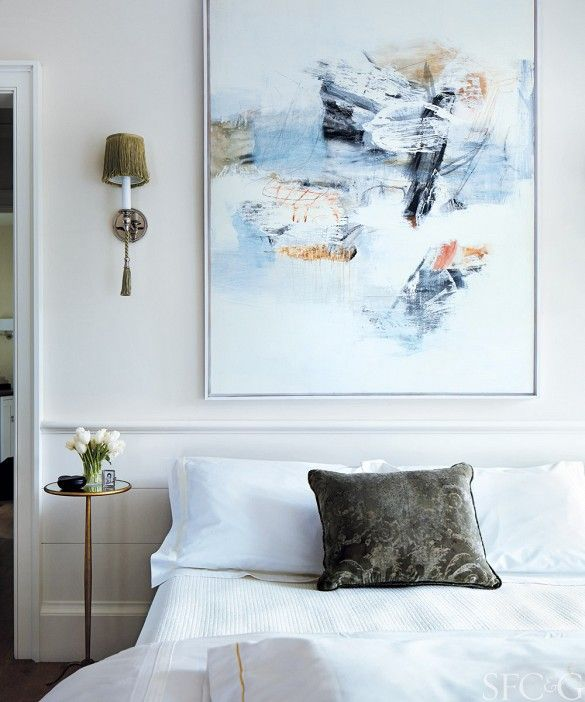 Tour an Architect s Elegant Bay Area Home. 231 Best images about ART IN BEDROOMS on Pinterest   Side tables