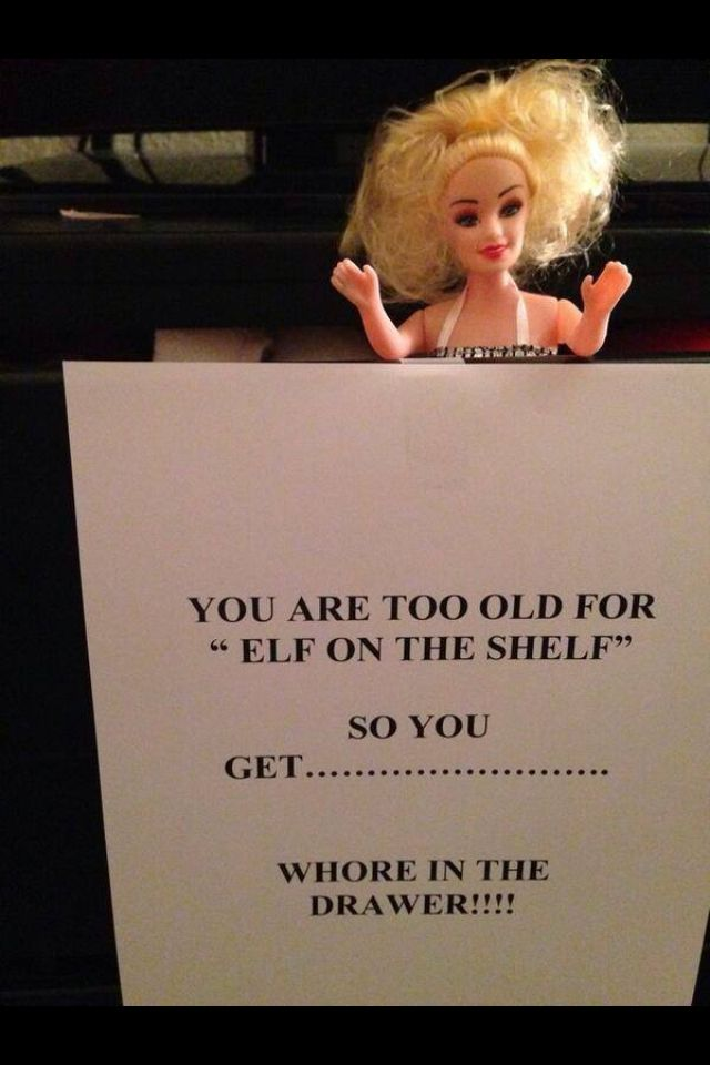 Whore in a drawer... Lmfao