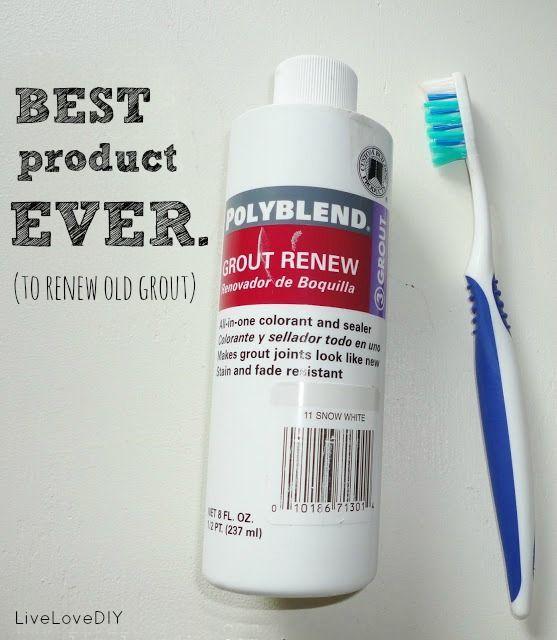 Cómo restaurar baldosas sucio lechada! Esto es genial!