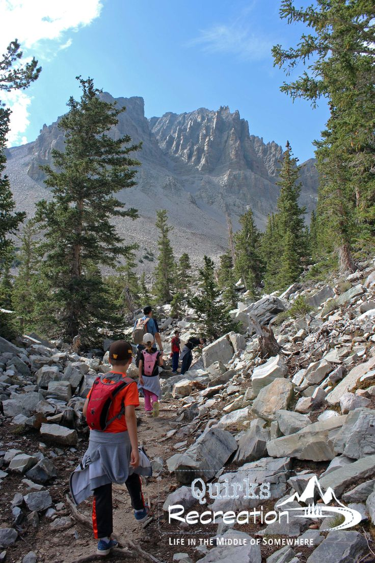 Glacier Trail in Great Basin National Park offers amazing views as hikers gain 1,100 feet elevation.