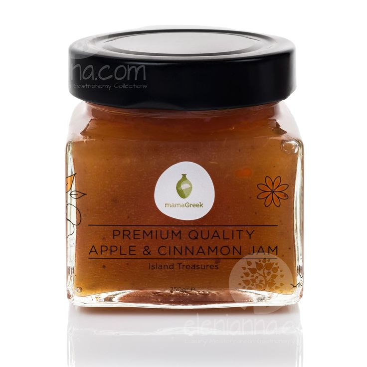 Show details for Apple and Cinnamon Jam Island Treasures Collection MamaGreek 250g