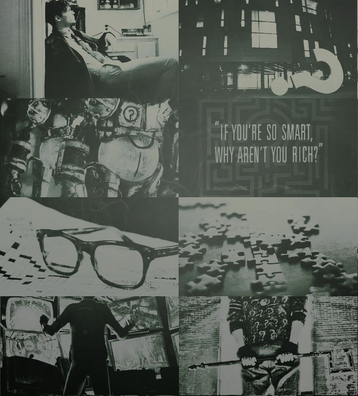 Edward Nygma/The Riddler