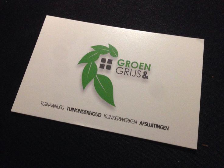 Groen&Grijs business card design