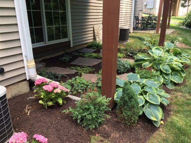 Under Deck Garden Under Deck Landscaping Deck Garden Deck Landscaping