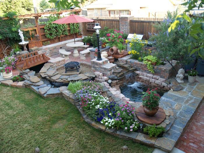 41 best Fish Ponds I dream of images on Pinterest Backyard ideas
