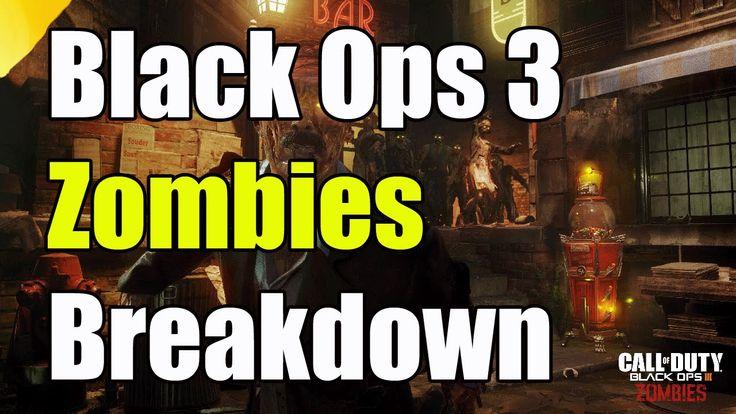 """Black Ops 3 Black Ops 3 Trailer Gameplaly Breakdown """"Black Ops 3 Zombies"""""""