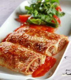 Κανελόνια με μοσχαρίσιο κιμά, μελιτζάνες, κολοκύθια και ψητές πιπεριές Φλωρίνης | Γιάννης Λουκάκος