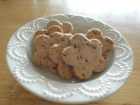 *小豆とそば茶のクッキー*