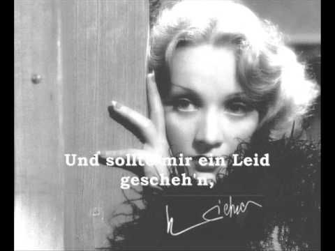 Marlene Dietrich - Lili marleen song and text - YouTube