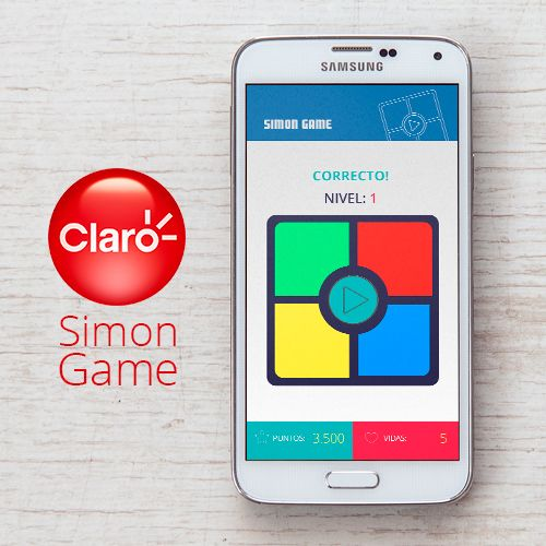 Claro - Simon Game