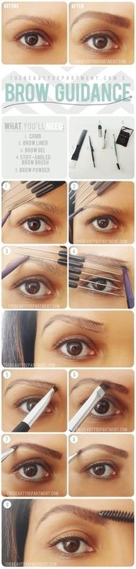 Eyebrow Tips & Tutorials
