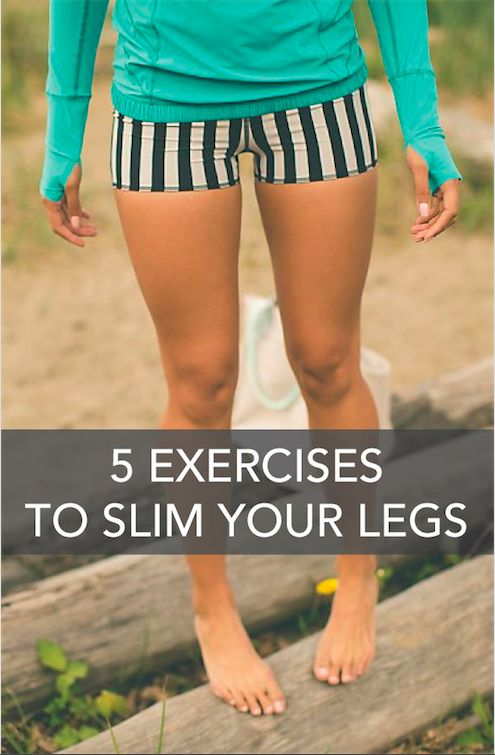 """fitnessforevertips: """" 5 Exercises to Slim Your Legs Thinning down your legs isn't hard to do, but there are only right and wrong approaches towards seeing results. The best exercises will get you to..."""