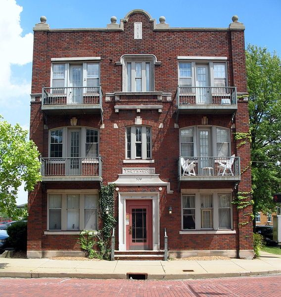 small old apartment building. File Frances Apartment Building  534 Cleveland Ave SW Canton OH 18 best Small Buildings images on Pinterest