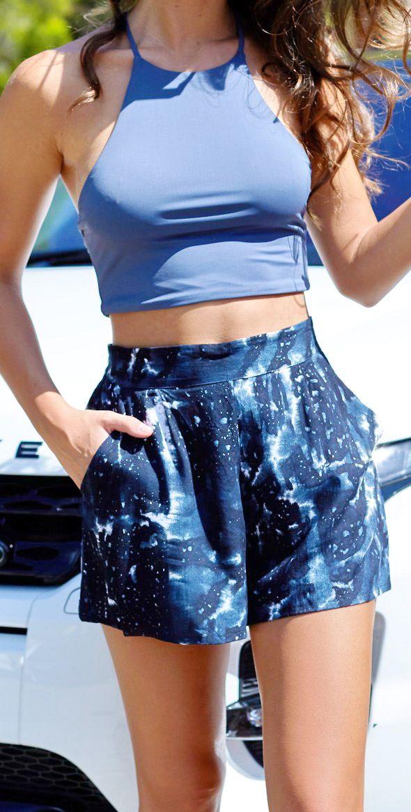 Zali Shorts Galaxy Tie Dye http://www.geelongpartytime.com.au/zali-shorts-galaxy-tie-dye-p-86.html
