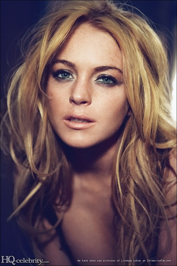 Lindsay Lohan- beautiful disaster