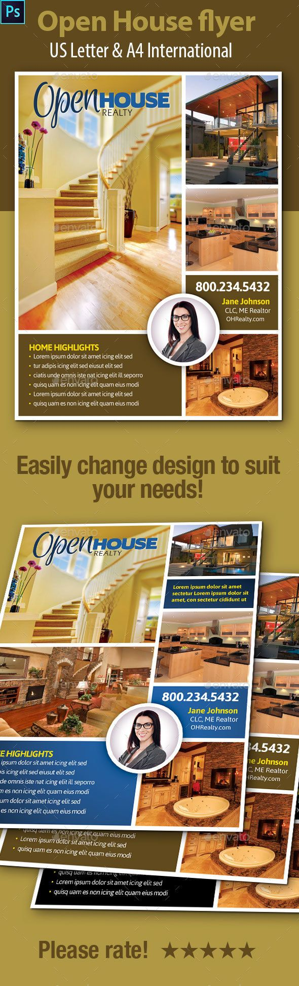 17 best images about real estate flyer business open house flyers