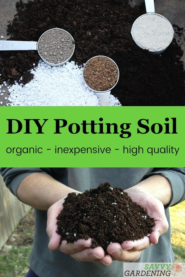 Diy Potting Soil 6 Homemade Potting Mix Recipes For The Garden