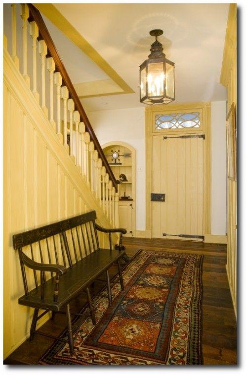 Traditional Entry Design By Philadelphia Interior Designer Meadowbank Designs