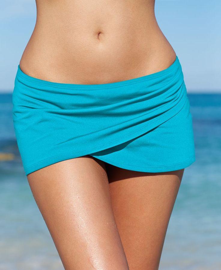 Anne Cole Tulip Swim Skirt