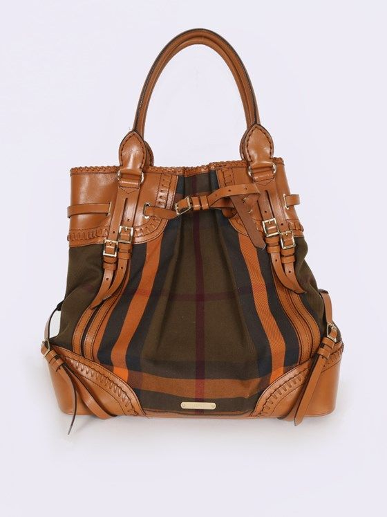 Burberry - Prorsum Bridle House Check Large Tote