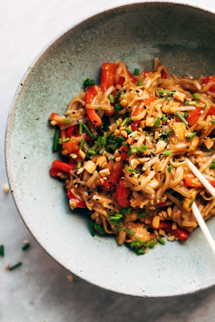 Chili Garlic Instant Pot Noodles Recipe - Pinch of Yum