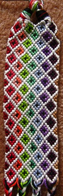 by goodnightgracie, via Flickr  ... would make a pretty design for a pair of socks or scarf