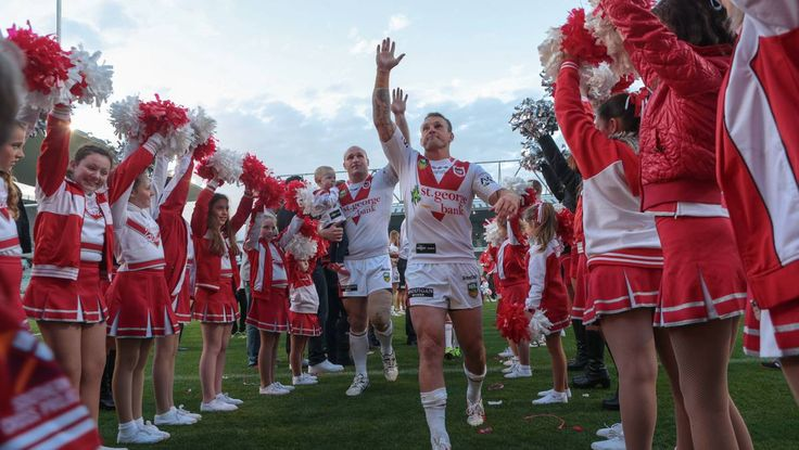GALLERY: Retiring Dragons Nathan Fien and Michael Weyman go out on a high note.