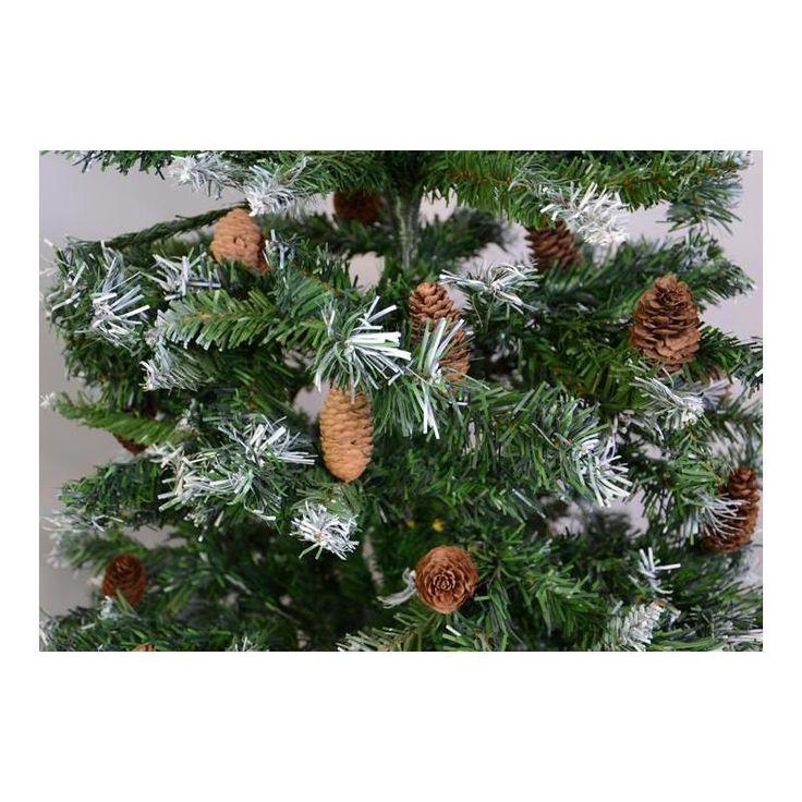 Umělý vánoční stromek se šiškami - 150 cm - www.guge.cz