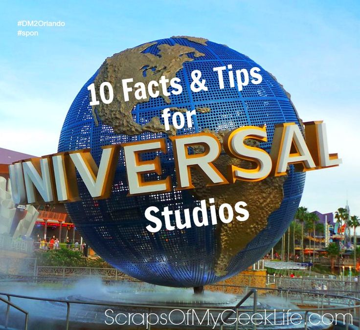 10 Universal Studios Facts and Tips #DM2Orlando #Spon