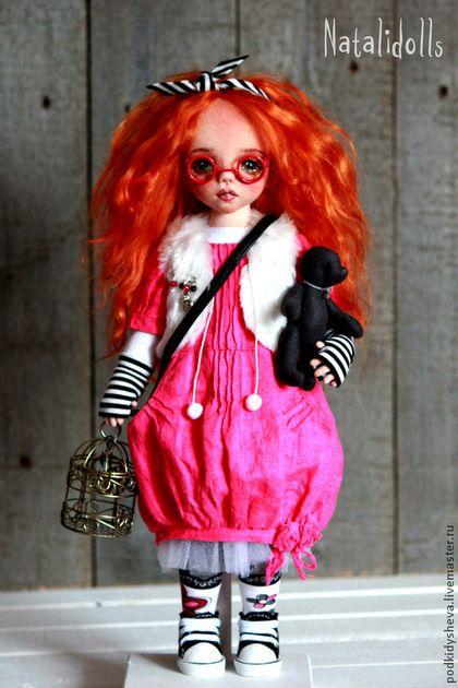 Купить или заказать Ариша в интернет-магазине на Ярмарке Мастеров. Авторская текстильная кукла.
