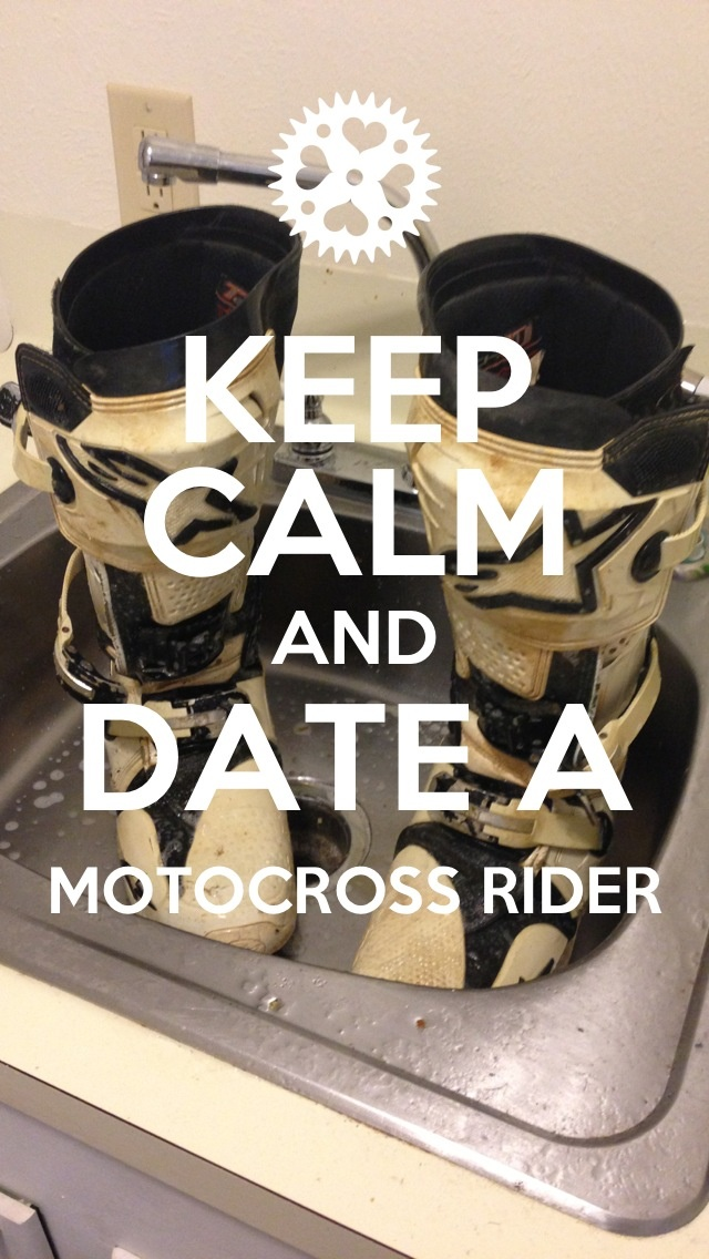 Or marry!! Love my motocross man