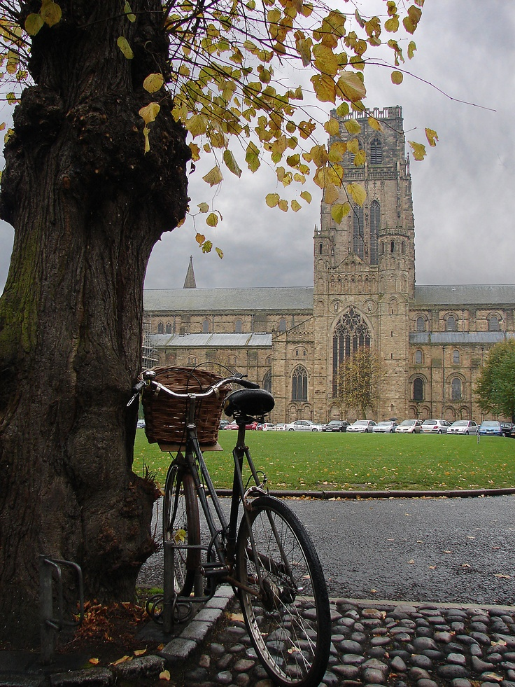 Durham Cathedral, Durham UK   A lovely city, filled with cobbled streets and shops. Also, the place where my Martin's parents met at University...thank goodness.