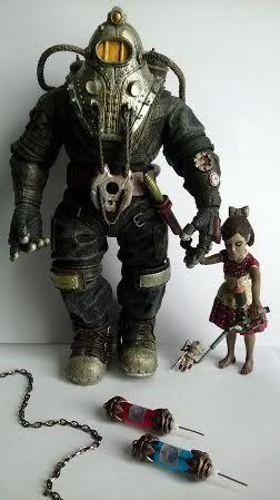 BioShock 1 & 2 inspired Adam and Eve Syringe  by BulletsAndPetals, $12.50