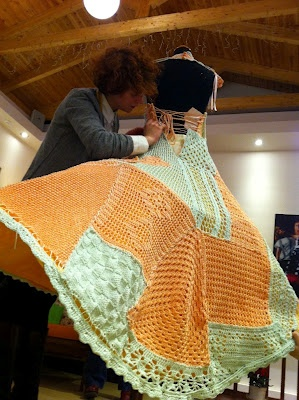 Crochet Dress-making of
