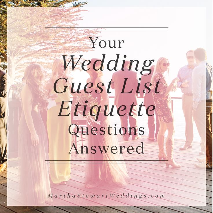 17 Best images about Wedding Guest List Made Easy on Pinterest - sample wedding guest list
