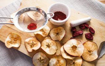 Сушеные яблоки в сушилке