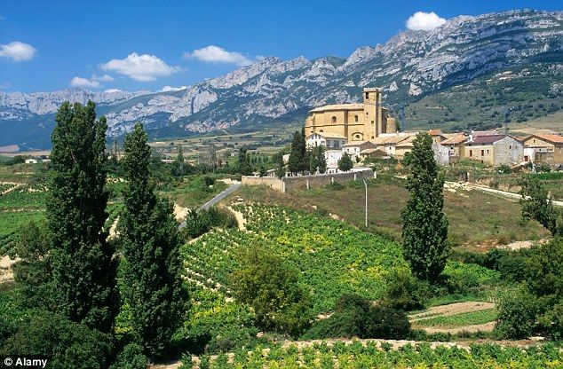 LA RIOJA - Where: Spain Sleepy Spanish villages, centuries of grape-growing history, and more than 500 wineries producing a wide variety of full-bodied reds make La Rioja an intriguing destination for wine lovers in northern Spain.