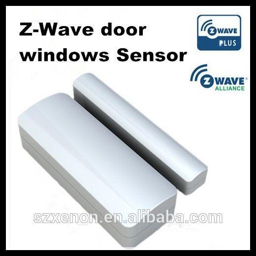 2015 Z-wave wireless home alarm system US EU z-wave magnetic door / window sensor 868.42 /908.42MHz