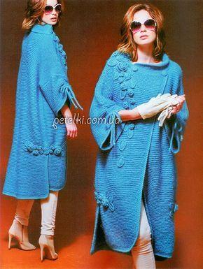 Пальто в стиле Бохо Светланы Волкодав. Описание, схемы Coats in the style of boho Svetlana Wolfhound. Description pattern