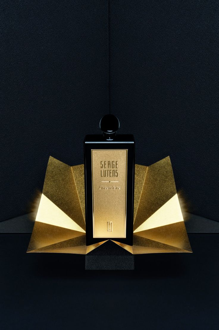 """Serge Lutens. """"L'Incendiaire"""", Section Or collection !"""