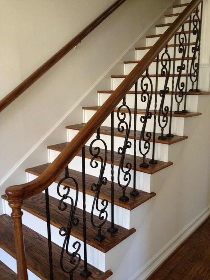 Iron Spindles For Interior Stairs Photo Gallery Vip