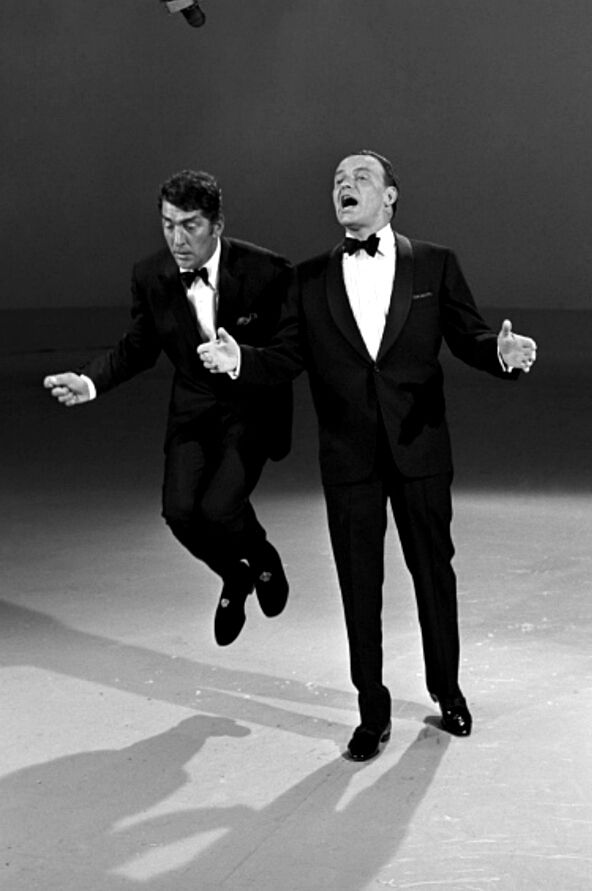 Dean Martin and Frank Sinatra /  AS1966